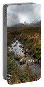 Stream On Rannoch Moor  Portable Battery Charger