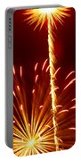 Streaming Fireworks Portable Battery Charger