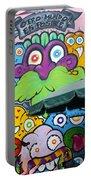 Street Art Lima Peru 2 Portable Battery Charger