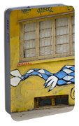 Street Art Valparaiso Chile 12 Portable Battery Charger