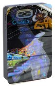 Street Art Valparaiso Chile 5 Portable Battery Charger