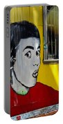 Street Art Valparaiso Chile 7 Portable Battery Charger
