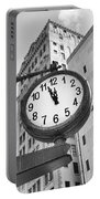 Street Clock Portable Battery Charger