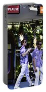 Street Entertainers In The Hollywood Section Portable Battery Charger