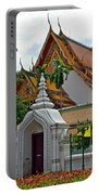 Street Entry To Wat Po In Bangkok-thailand Portable Battery Charger