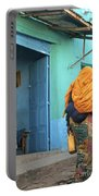 Street In Harar Ethiopia  Portable Battery Charger