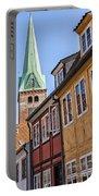 Street In Helsingor Denmark Portable Battery Charger