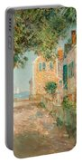 Street In Provincetown Portable Battery Charger by  Childe Hassam