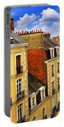 Street In Rennes Portable Battery Charger