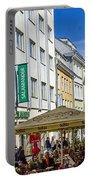 Street Life - Tallin Estonia  Portable Battery Charger