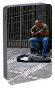 Street Musician - Sao Paulo Portable Battery Charger