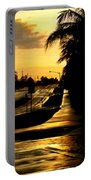 Street Of Dreams Portable Battery Charger by Laura Fasulo