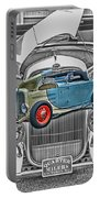 Street Rod In Grill Portable Battery Charger