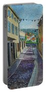 Street View From Provence Portable Battery Charger