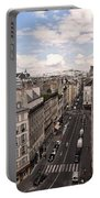 Streets Of Paris Portable Battery Charger