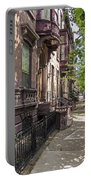 Streets Of Troy New York Portable Battery Charger