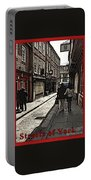 Streets Of York Portable Battery Charger