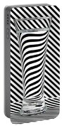 Striped Water Portable Battery Charger