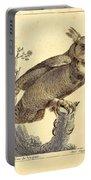 Strix Virginiana Owl Portable Battery Charger