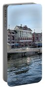 Strolling On The Boardwalk At Disney World Portable Battery Charger