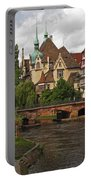 Strolling Through Strasbourg Portable Battery Charger