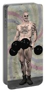 Strongest Man Skinhead  Portable Battery Charger