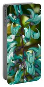Strongylodon Macrobotrys - Blue Jade Vine - Hawaii  Portable Battery Charger