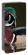 Strutting His Stuff - Wood Duck Portable Battery Charger