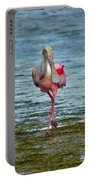 Strutting Spoonbill Portable Battery Charger