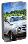 Studebaker Goes To The Beach Portable Battery Charger