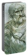 Study For An Apostle From The Last Supper Portable Battery Charger
