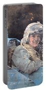 Study For Donald Campbell Oil On Canvas Portable Battery Charger