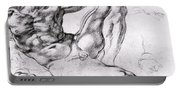 Study For The Creation Of Adam Portable Battery Charger