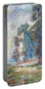 Study Of An Impressionist Master Portable Battery Charger by Quin Sweetman