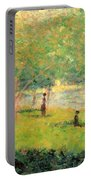 Study On La Grande Jatte Portable Battery Charger