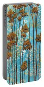 Stunning Abstract Landscape Elegant Trees Floating Dreams II By Megan Duncanson Portable Battery Charger