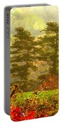 Stunning - Looks Like A Painting - Autumn Landscape  Portable Battery Charger