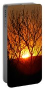 Stunning Stone Park Sunset Portable Battery Charger