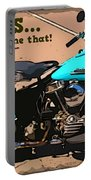 Sturgis Motorcycle Rally Portable Battery Charger