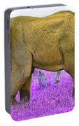Styled Environment-the Modern Elephant Bull Portable Battery Charger