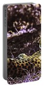 Styled Environment-the Modern Trendy Cheetah Portable Battery Charger