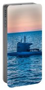 Submarine Sunset Portable Battery Charger