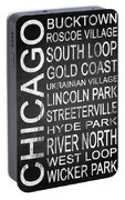 Subway Chicago 2 Portable Battery Charger