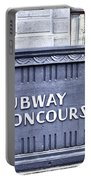 Subway Concourse At City Hall Portable Battery Charger