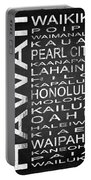 Subway Hawaii State 1 Portable Battery Charger
