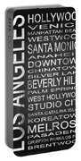 Subway Los Angeles 1 Portable Battery Charger