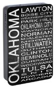Subway Oklahoma State 1 Portable Battery Charger