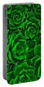 Succulent Green Portable Battery Charger