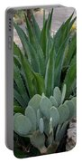 Succulent Greens Portable Battery Charger