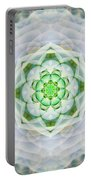 Succulent Mandala Portable Battery Charger